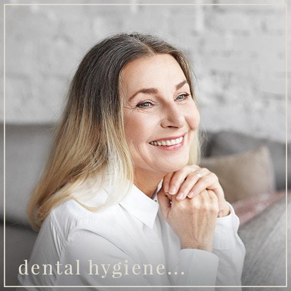 dental hygiene...