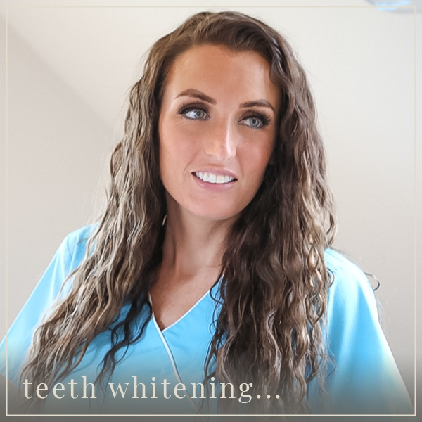teeth whitening...